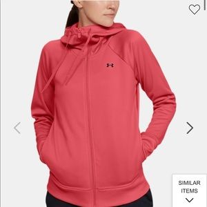 Pink Under Armour Jacket!!